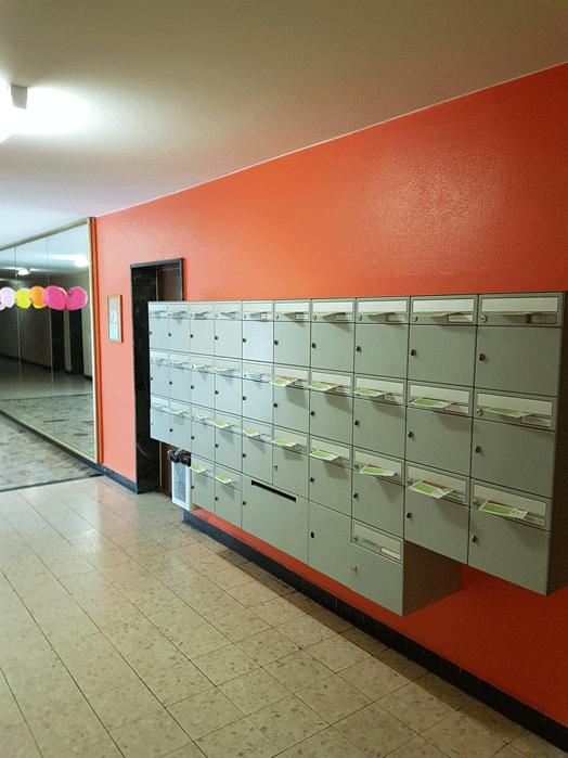 Distribution de flyers dans les boites aux lettres